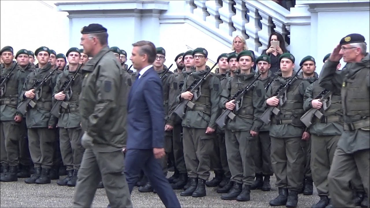 Bundesheer Angelobung In Sankt Florian Am 25052018 130 Soldaten