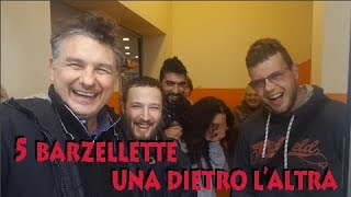 Alessandro Paci -  5 Barzellette una dietro l