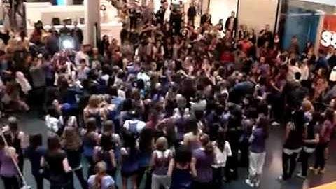 justin bieber flashmob  zurich