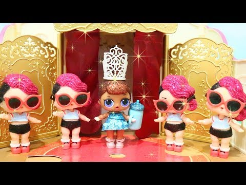LOL Surprise Dolls Glitter Series Toys and Dolls Blind Bags Baby Doll Play Looking for Center Stage