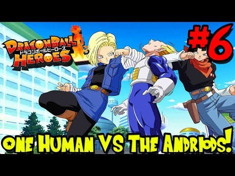 ONE HUMAN VS THE ANDROIDS! | Dragon Block Heroes UPDATED (Minecraft DBZ Server) - Episode 6