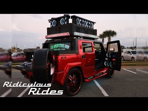 World's Loudest Hummer Boasts 86 Speakers | RIDICULOUS RIDES from YouTube · Duration:  6 minutes 44 seconds