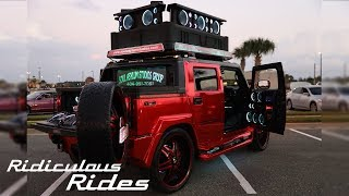 World's Loudest Hummer Boasts 86 Speakers | RIDICULOUS RIDES
