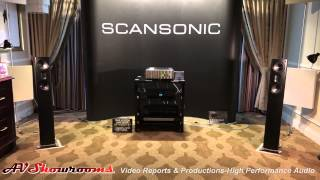 Scansonic loudspeakers, Ansuz Acoustics cables, Raidho Acoustics family, CES 2015