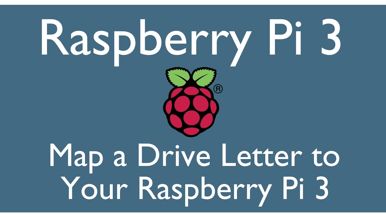 Map a Drive to Raspberry Pi 3
