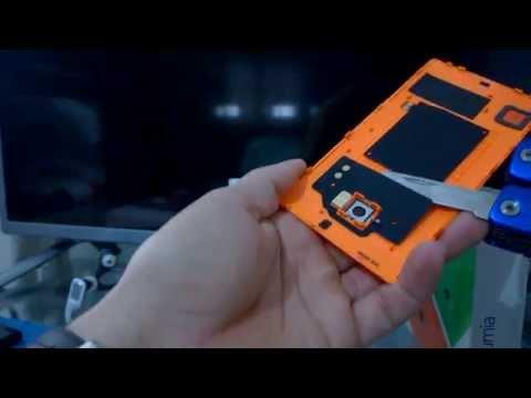 Trocando Tampa Traseira Nokia Lumia 930