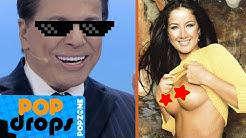 Silvio Santos vê Helen Ganzarolli nua #PopDrops @PopZoneTV