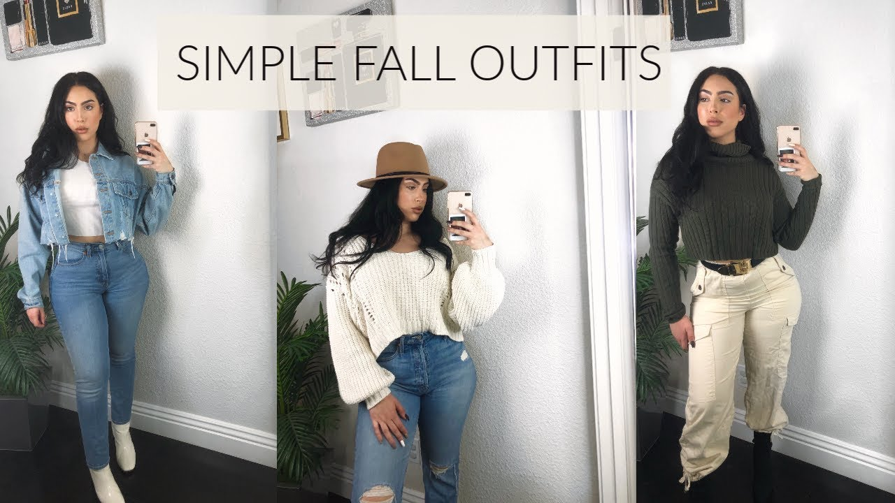 [VIDEO] - SIMPLE FALL OUTFITS 2019 2