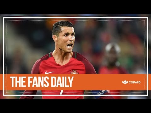 Ronaldo Pissed Off by Iceland | The Fans Daily