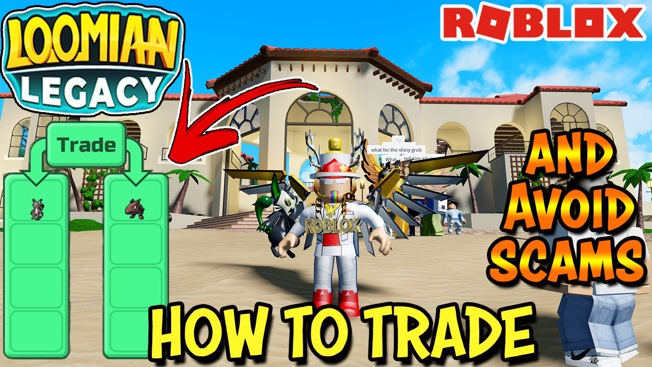 How To Trade & NOT GET SCAMMED in Loomian Legacy (Roblox) - Trade Resort  Update
