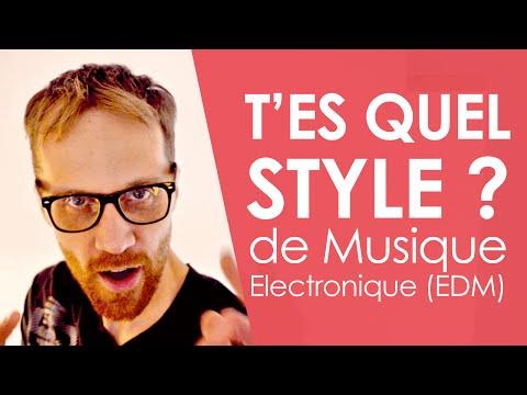 Les styles de musique électronique - EDM