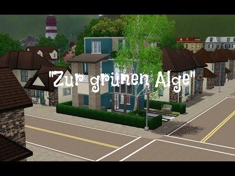 Sims 3 Hausbau - Penthouse ''Zur grünen Alge'' 1/2