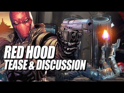 RED HOOD TEASE: Will He Be A Zoning Character?! Injustice 2 Discussion