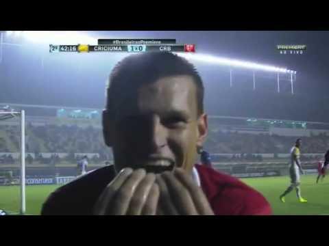 Os Gols Criciúma 1 x 1 CRB Brasileirão Série B 03 09 2016