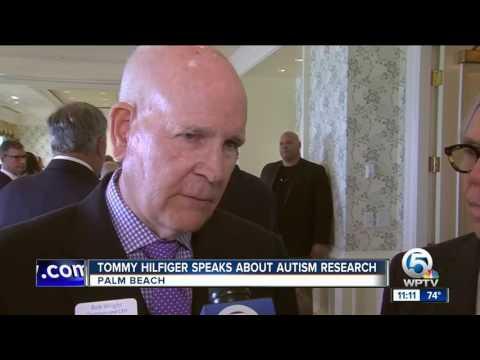 Tommy Hilfiger, Bob Wright speak on autism in Palm Beach