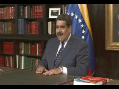 Mensaje de fin de año del Presidente Nicolás Maduro este 31 de diciembre de 2018