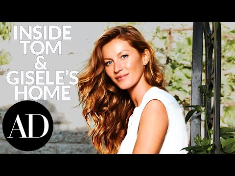 Inside Tom Brady and Gisele Bundchen's Brentwood Los Angeles House | Architectural Digest