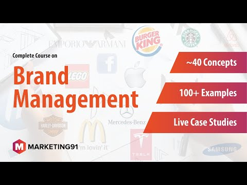 Complete Course on Brand Management - All Branding Concepts Explained with Examples & Case Studies