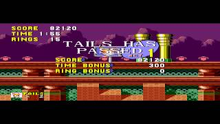 Tails in Sonic the Hedgehog - Tails in Sonic the Hedgehog (Sega Genesis) - Part 2 - User video