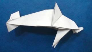 Origami Dolphin (mindaugas Cesnavicius)