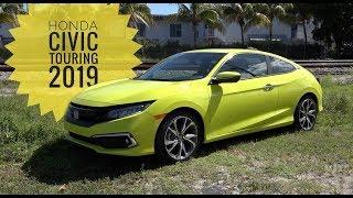 Honda Civic Touring 2019, yellow thunder⚡️