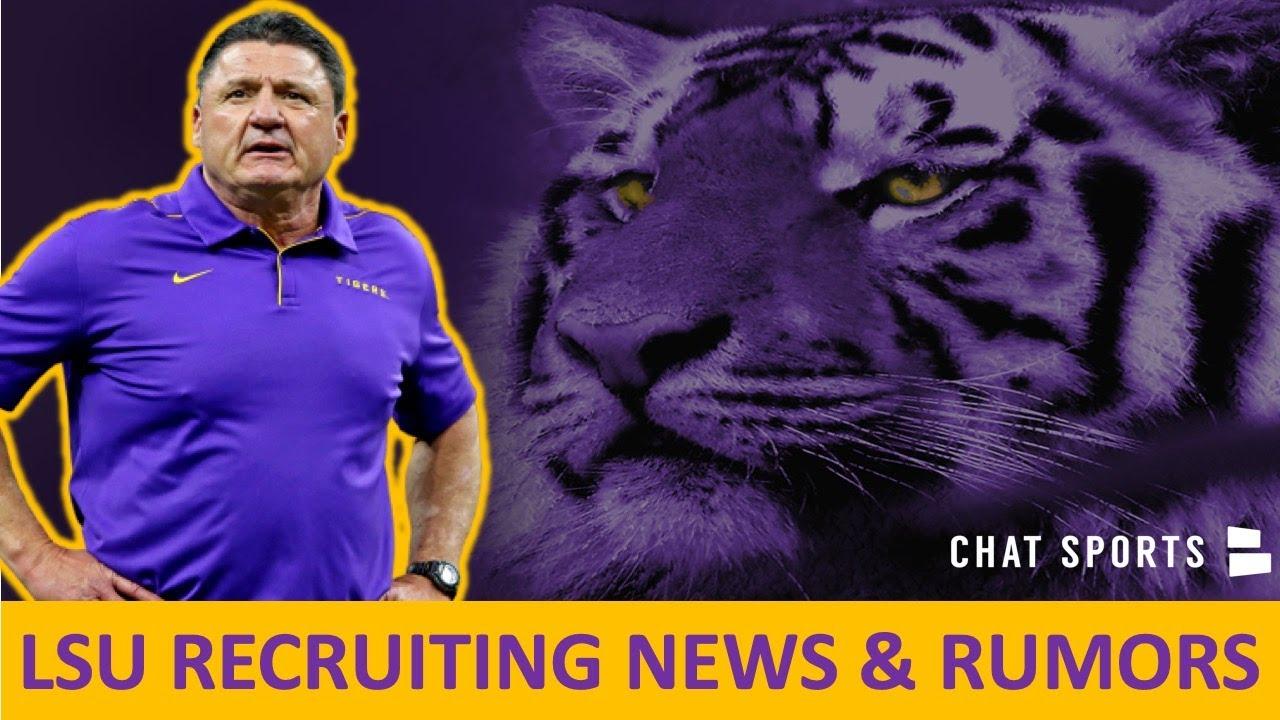LSU Football News & Rumors: Raesjon Davis News, Top Louisiana Prospects + 5-star Names LSU In To