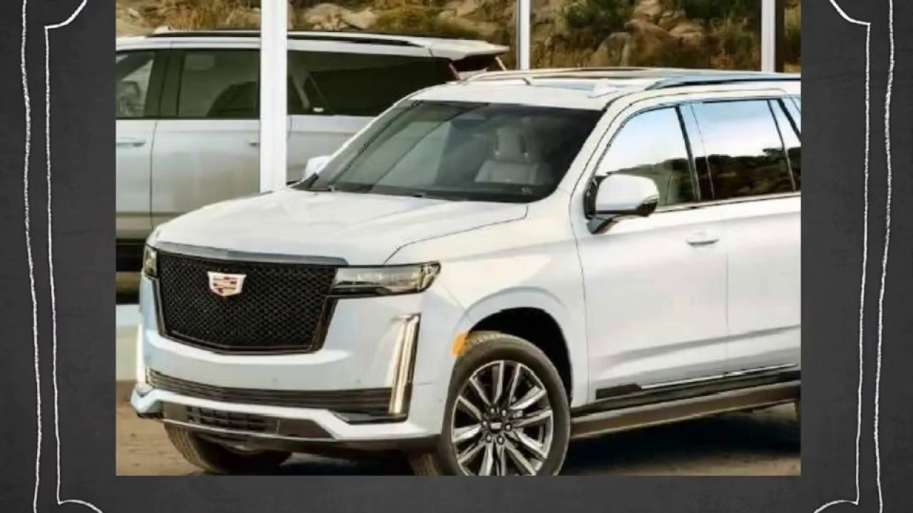 all new for 2021 cadillac escalade  youtube