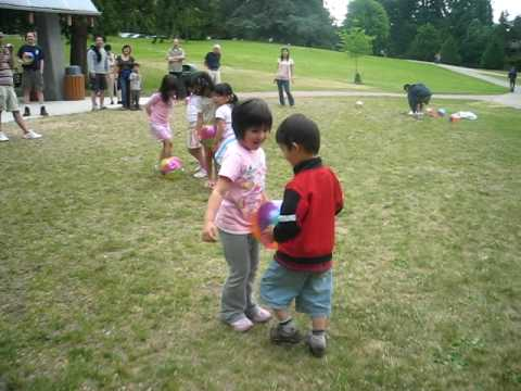 Maya's Birthday 3/4 (Ball race with Kokomi-chan)