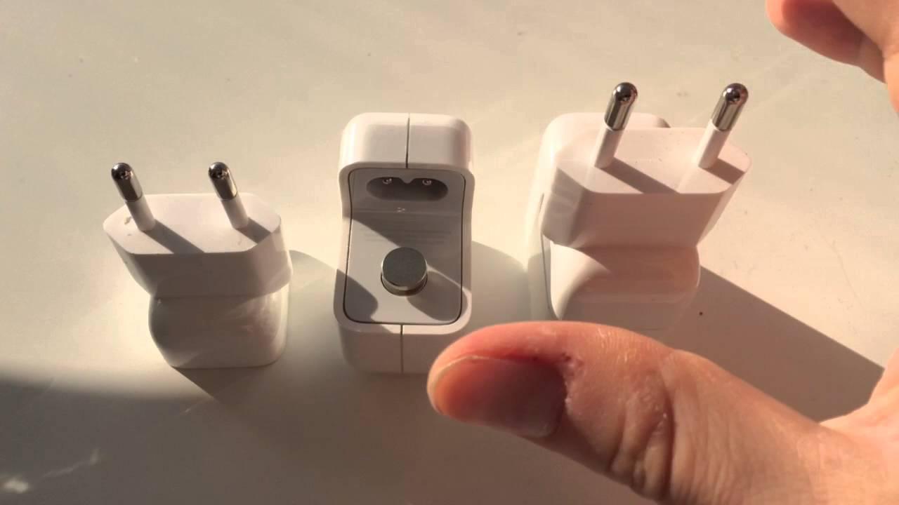 Original Apple 12w Usb Charger Vs Fake Sound When Connecting Plug Adapter Ipad 10 Watt Youtube