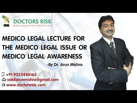 Medico Legal Lecture at Pune Sai hospital hadpsar -  Adv.  Dr.  Arun Mishra
