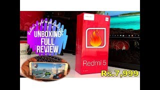 Xiaomi Redmi 5 Sasta Android Smartphone Unboxing & Full Review By Honest