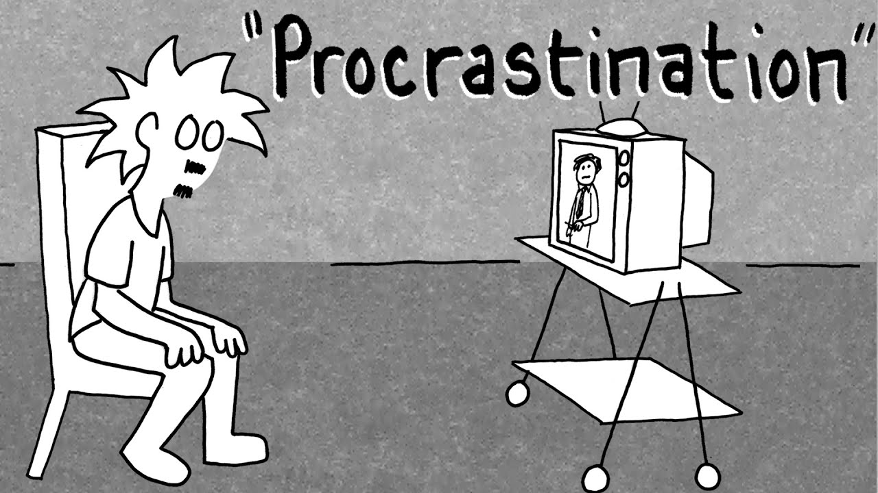 Image result for procrastination cartoon