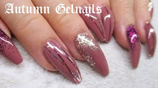 ♡ how to perfect autumn gelnails