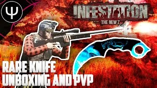 Infestation: The New Z — Rare Knife Unboxing and PvP!
