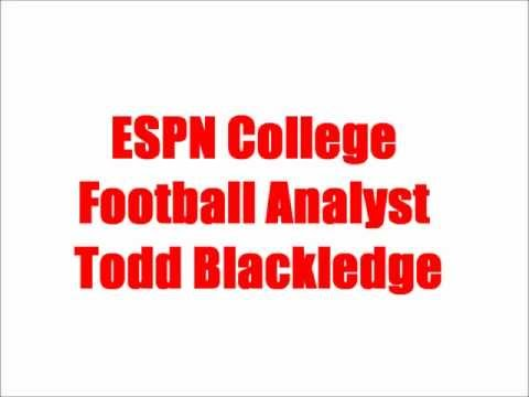 Todd Blackledge on the KNS Sports Page