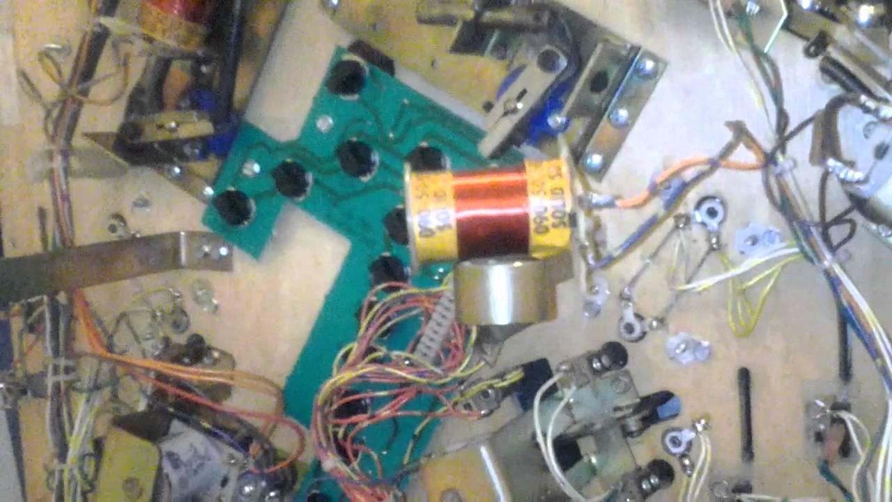 repair pinball machine
