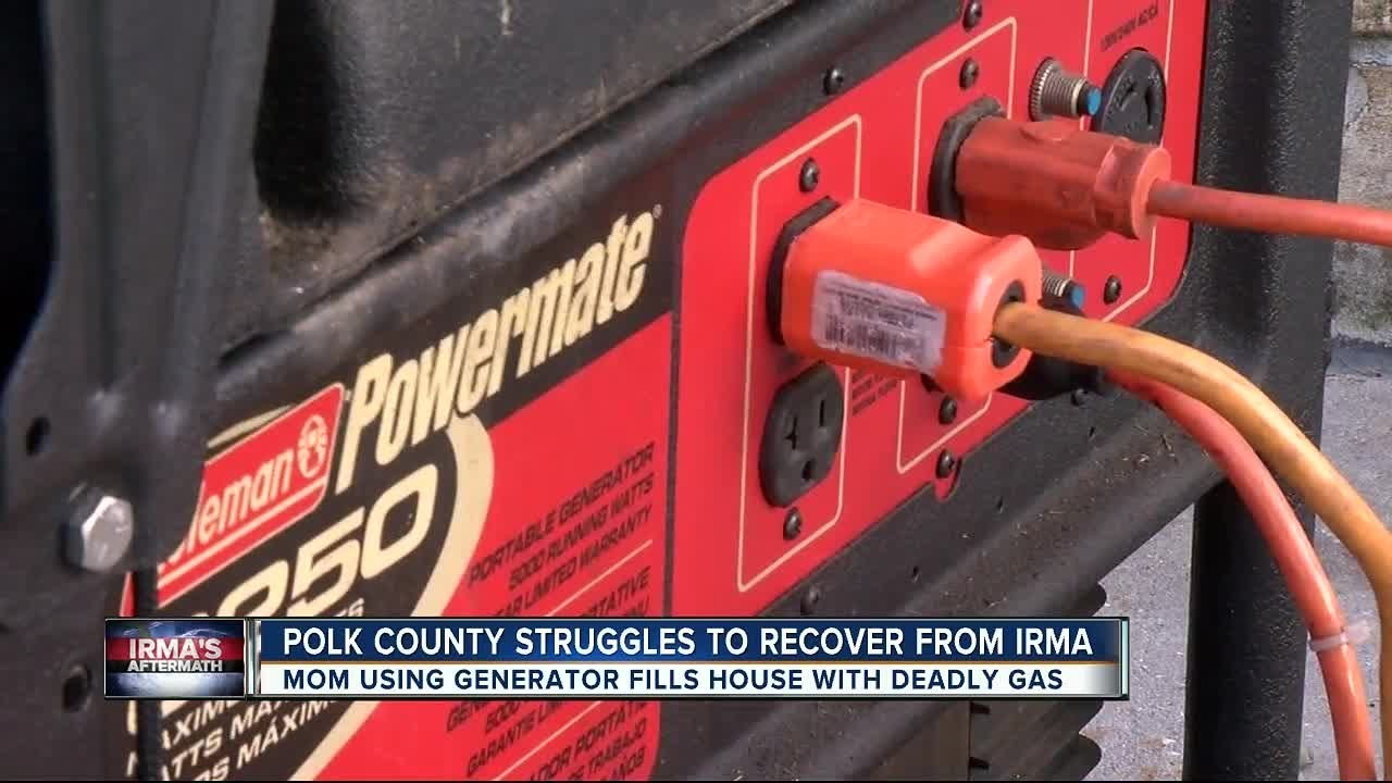 6 suffer carbon monoxide poisoning after running generator inside