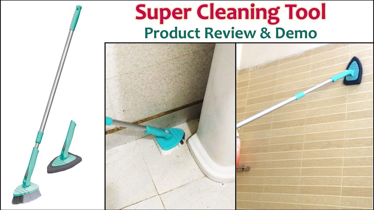 best bathroom cleaning brush how to clean bathroom product review demo daily cleaning hacks