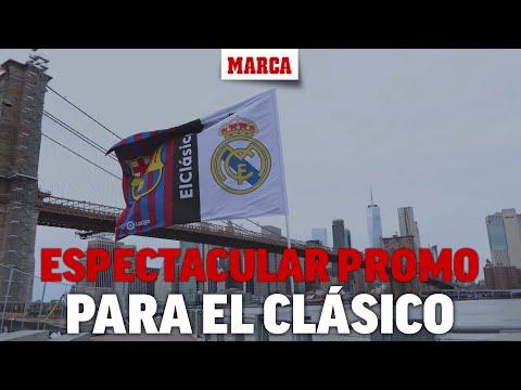 La espectacular promo de LaLiga  para el Madrid-Barça: un Clásico mundial I MARCA