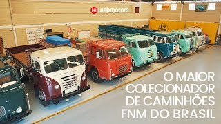 A Maior Coleção De Caminhões FNM Do Brasil   Webmotors