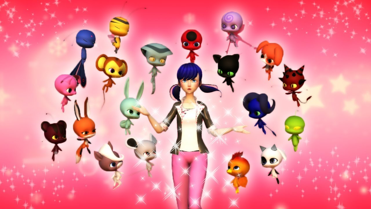 Download [Miraculous Ladybug] Transformation with ALL miraculouses (Animation)