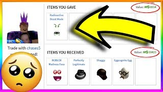 I Traded off the BEST Face...*SAD* (Roblox Trading)