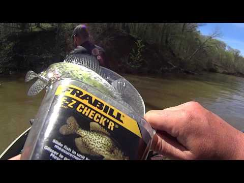 Ohio Crappie Fishing - Cowan Lake 4.18.17