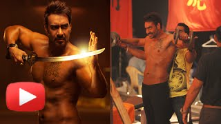 Shirtless ajay devgn martial arts training | action jackson