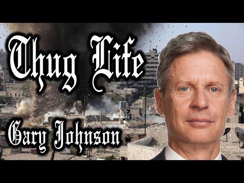 Thug Life Gary Johnson [Syria]