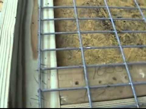 Tom Garner Kennel's Pit Bull Pen Building Video