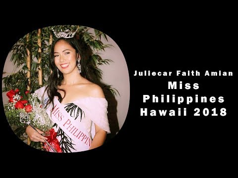 Miss Philippines Hawaii 2018