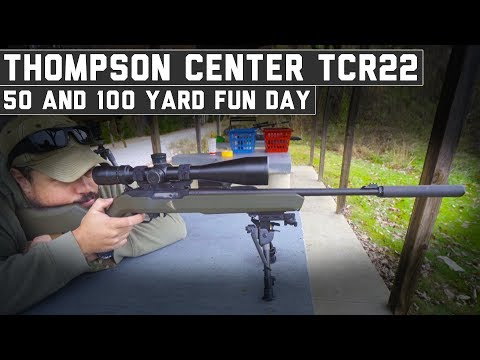 Thompson Center TCR22 First Shots! - The Proving Ground
