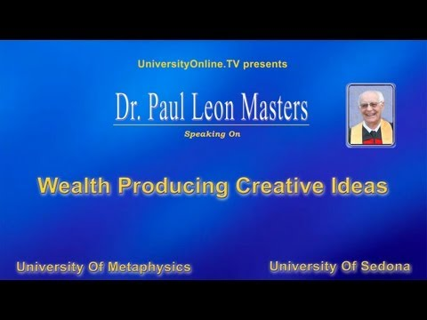 Wealth Producing Creative Ideas
