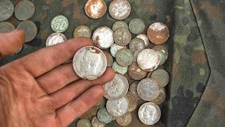 Клад серебряных монет 2 день 323